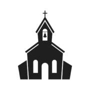 icon of church building
